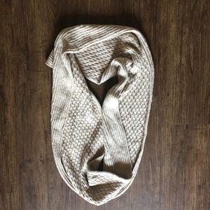 2 texture oatmeal Calvin Klein infinity scarf
